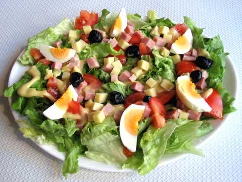 Grande salade mêlée
