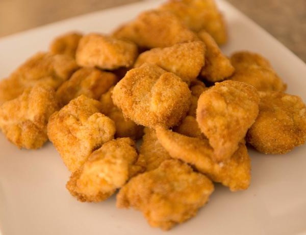 Chicken nuggets maison